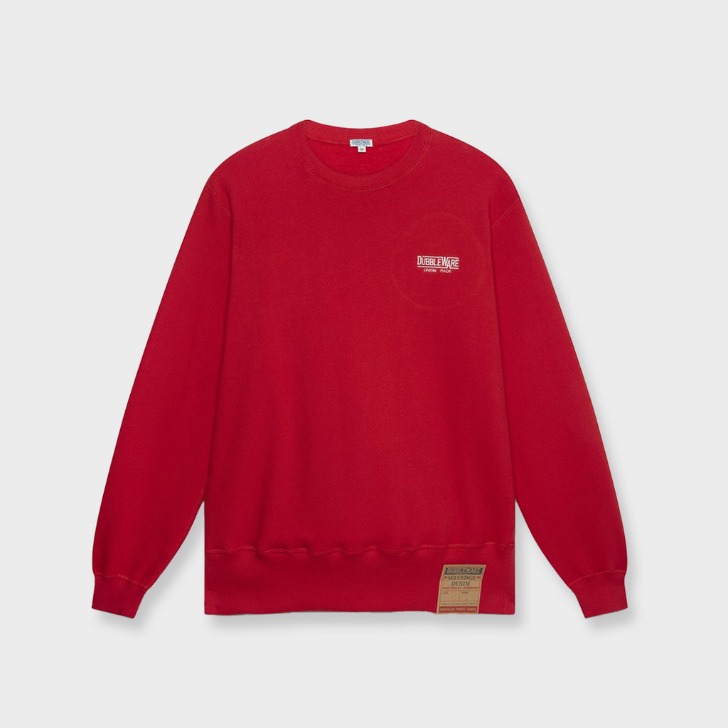 Dubbleware Union Embro Sweatshirt - Red