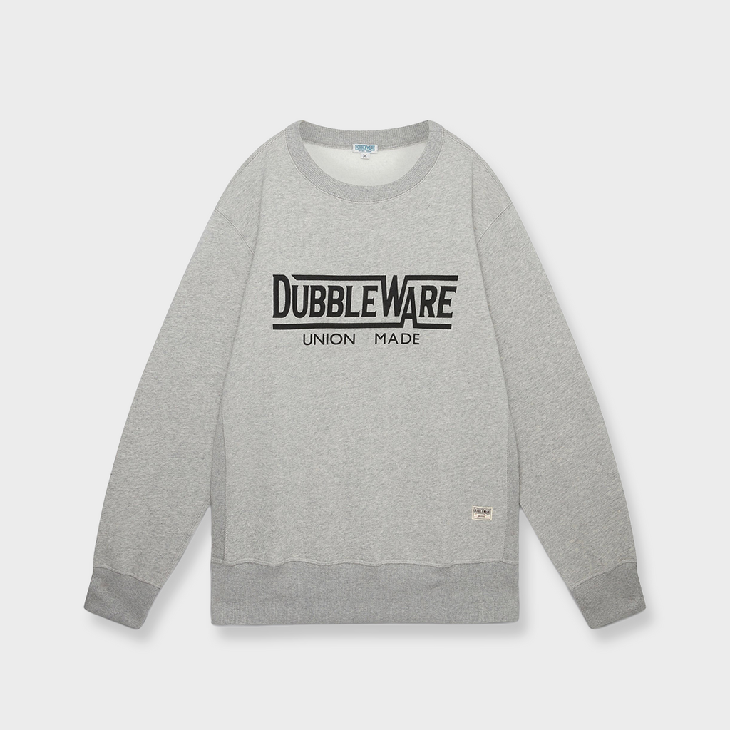Dubbleware Union Made Sweat - Heather Grey