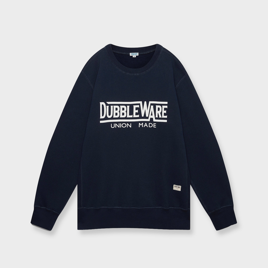 Dubbleware Union Made Sweat - Navy