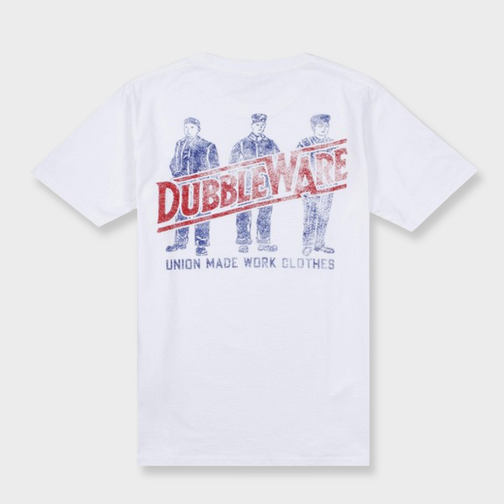 Dubbleware Work Clothes T-Shirt - White