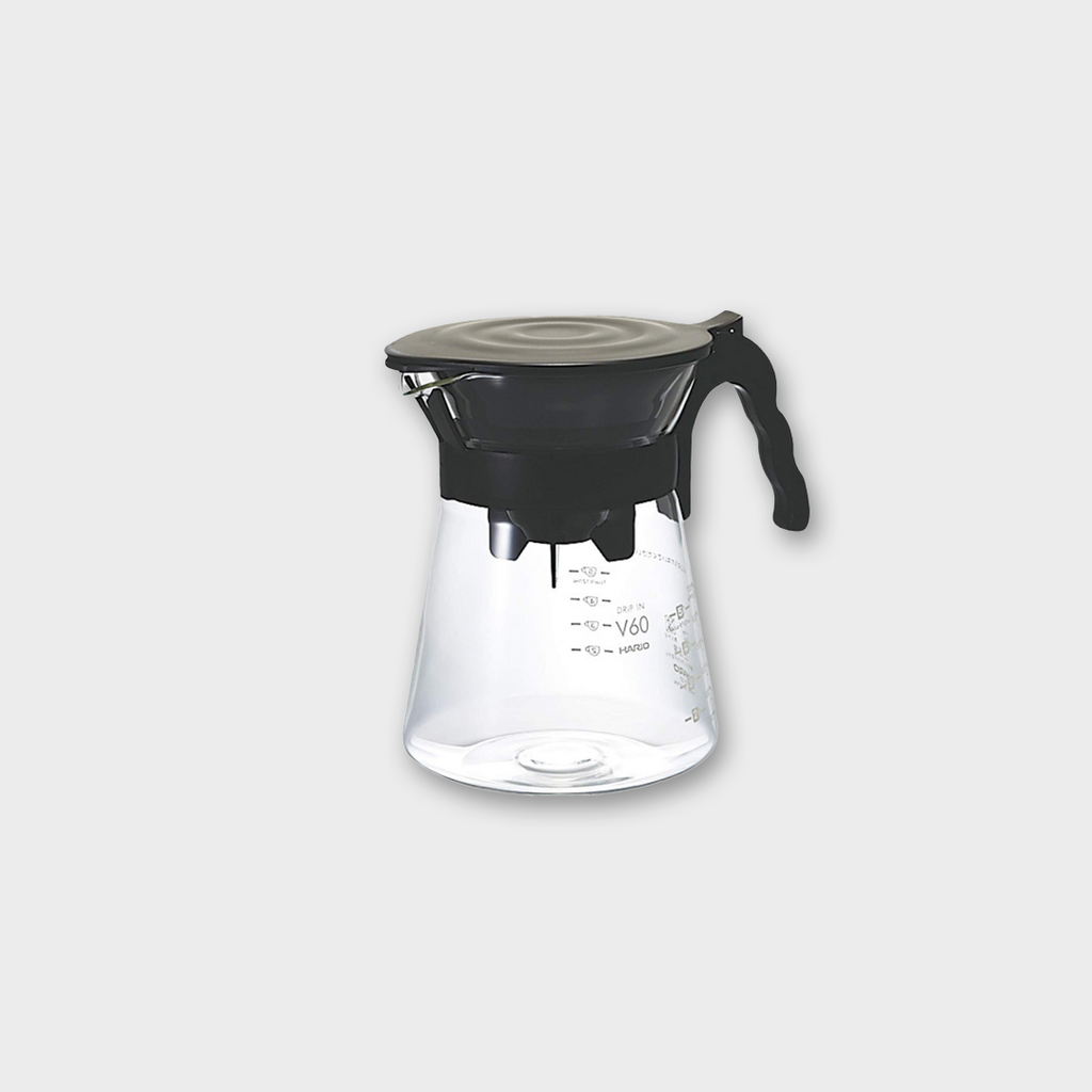 Hario V60 Coffee Drip In Decanter 2-5 Cup - Glass / Black 700ml