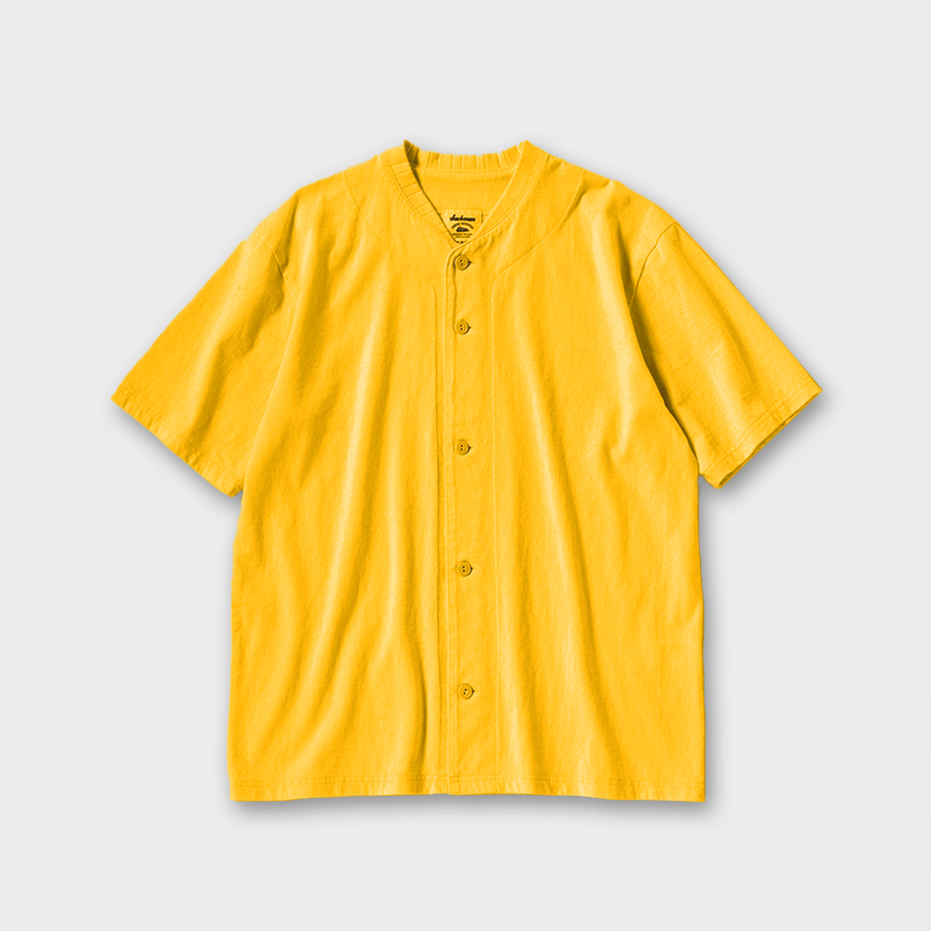 Jackman Baseball Shirt - Sulphur Yellow