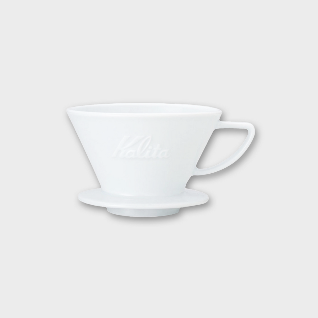 Kalita Wave Ceramic Coffee Dripper 2 - 4 Cups - 185 White