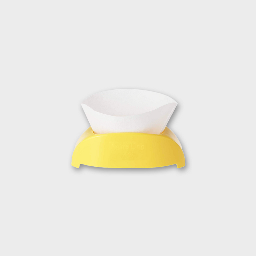 Kalita Cafe Uno Coffee Filter Holder - Yellow