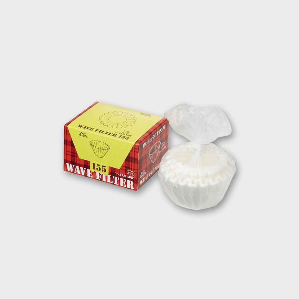 Kalita Wave Filter Papers 155 - 50 Pack White