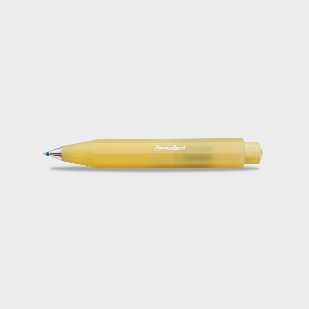 Kaweco Frosted Sport Ballpoint Pen - Sweet Banana