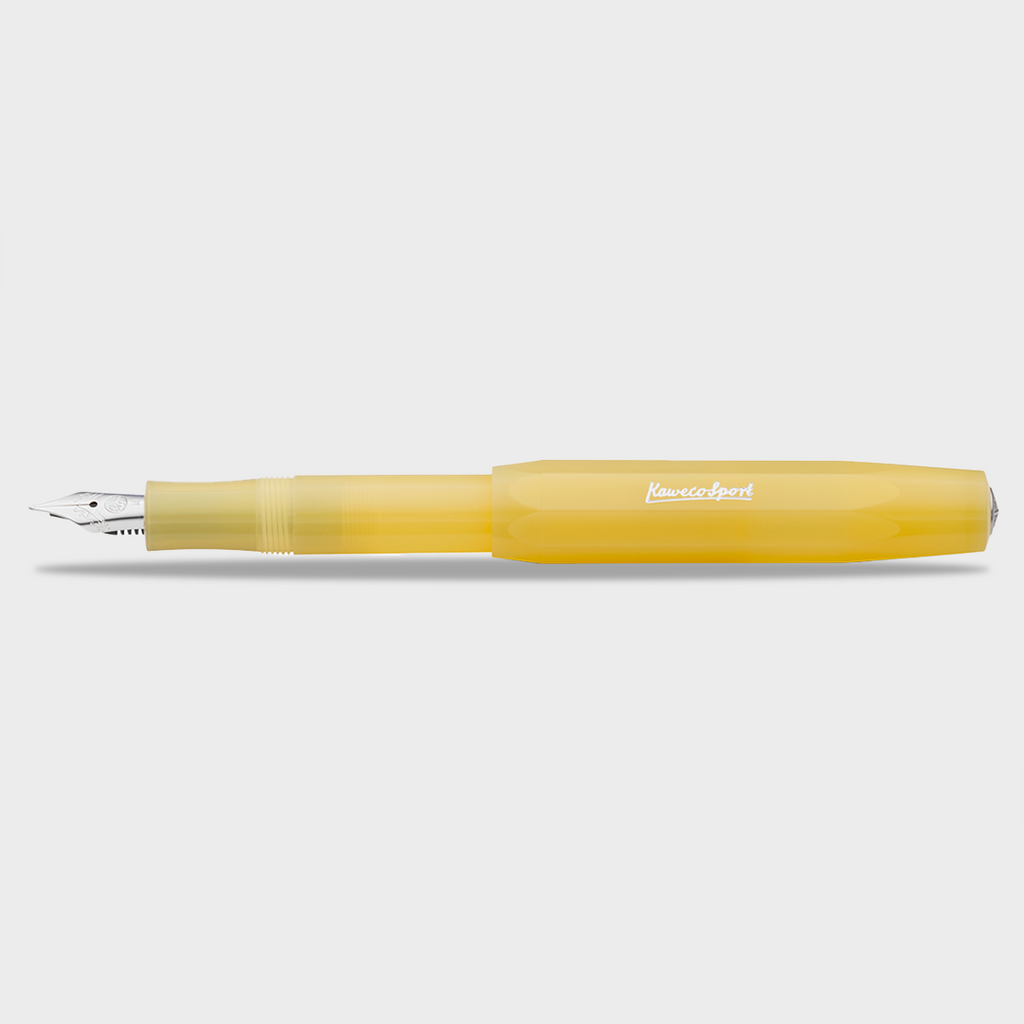 Kaweco Frosted Sport Fountain Pen - Sweet Banana