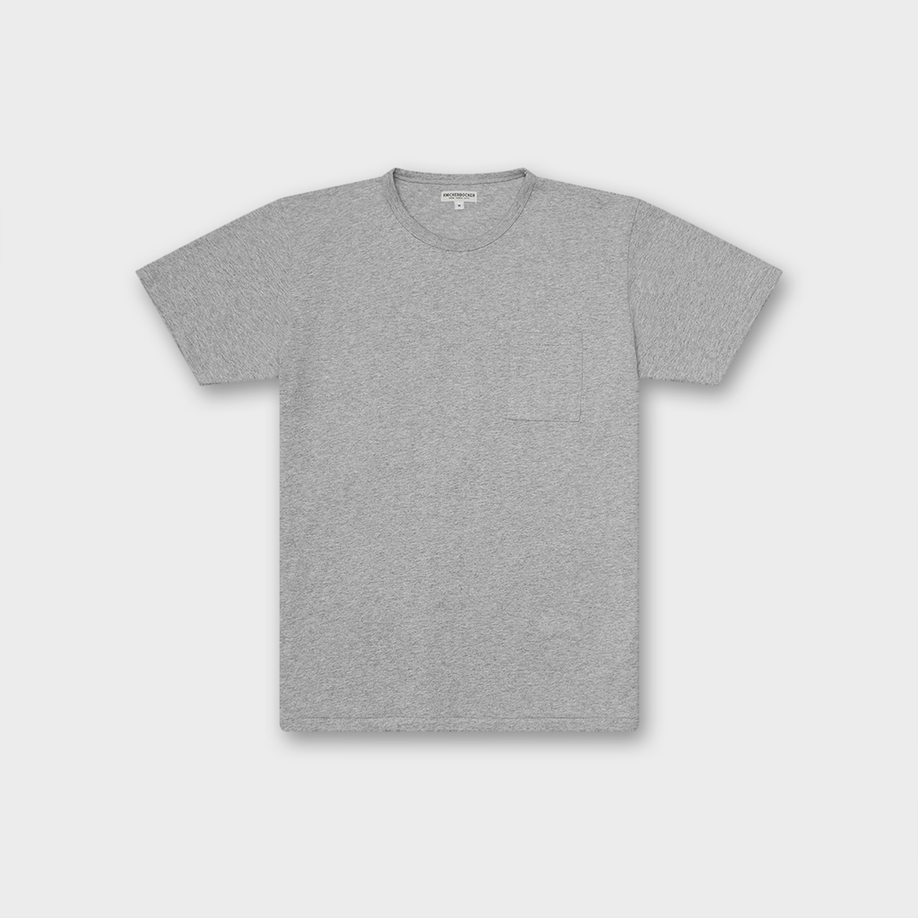 Knickerbocker New York The Pocket T-Shirt - Heather Grey