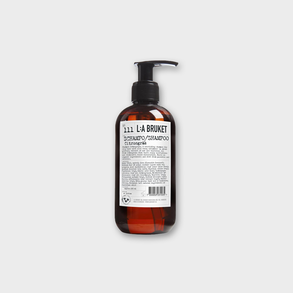 LA: Bruket No 111 Shampoo 250ml - Lemongrass