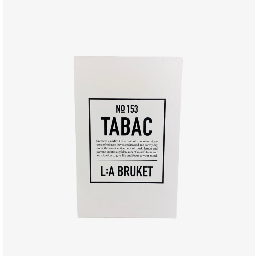LA: Bruket No 149 Scented Organic Candle 260g - Tabac
