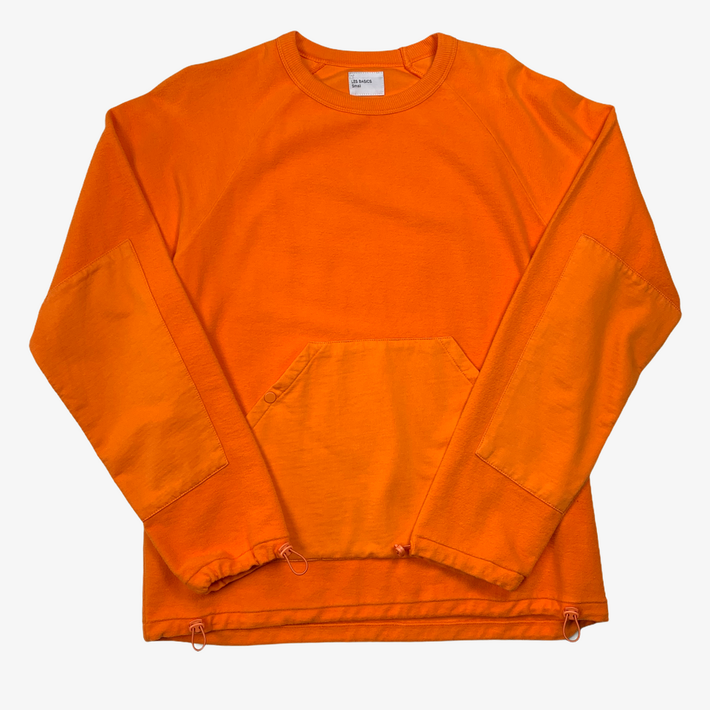 Les Basics Le Pouch Sweat - Orange