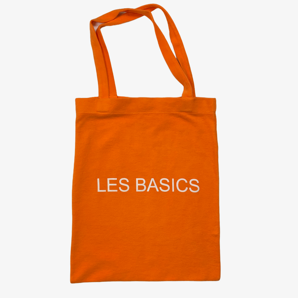 Les Basics Brushed Fleece Le Tote Bag - Orange