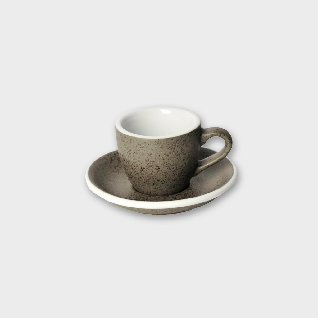 Loveramics Potters Porcelain Espresso Cup & Saucer - Granite 80ml