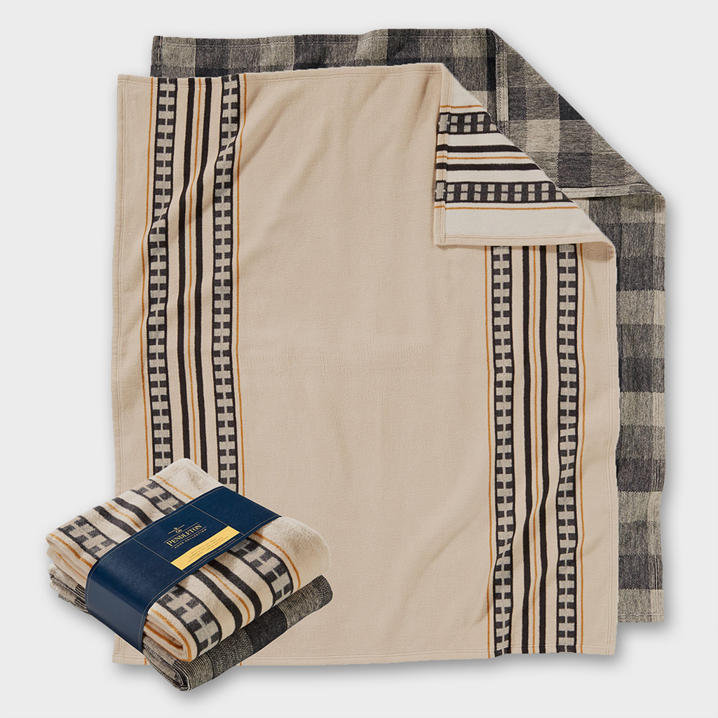 Pendleton Combo Throw Twin Set - Camp