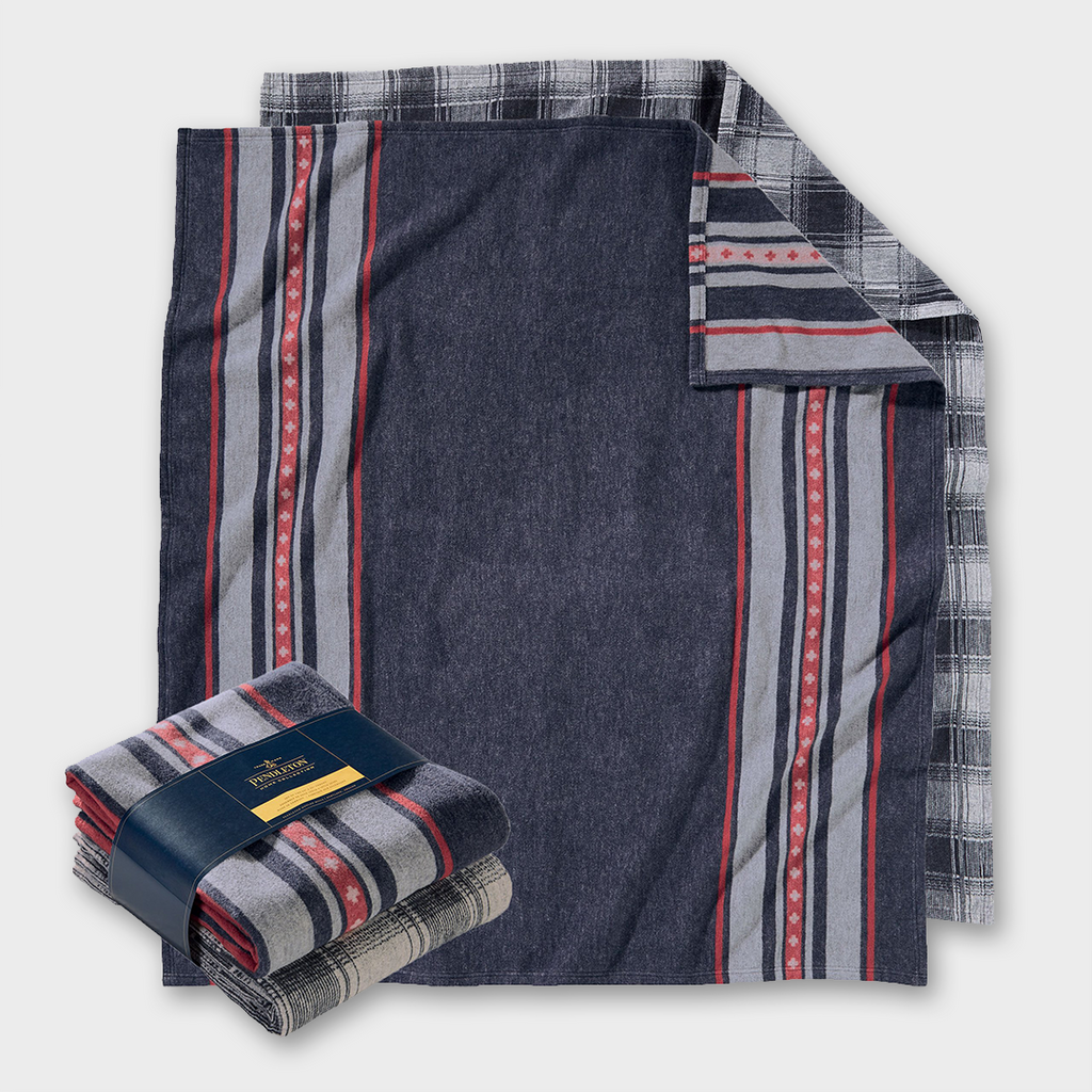 Pendleton Combo Throw Twin Set - Shelter Bay