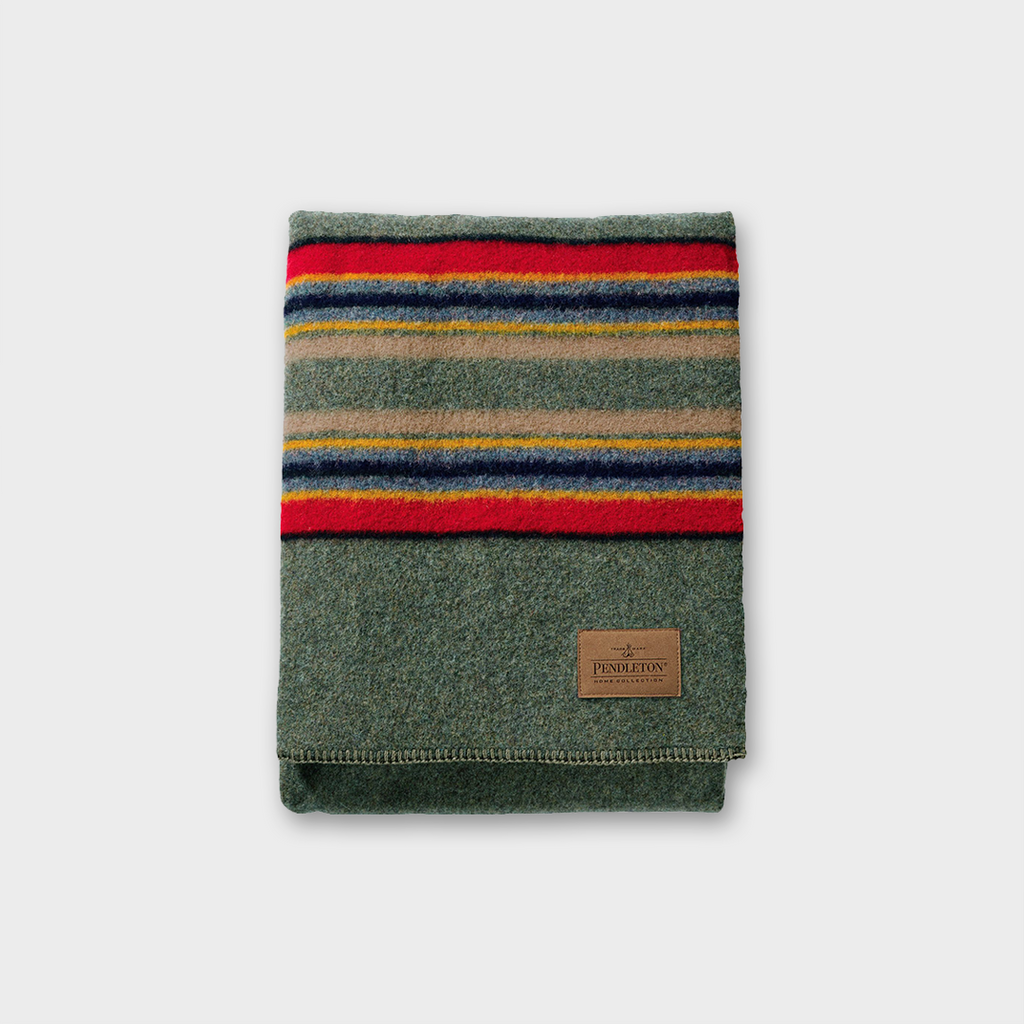Pendleton - Yakima Twin Blanket - Green Heather