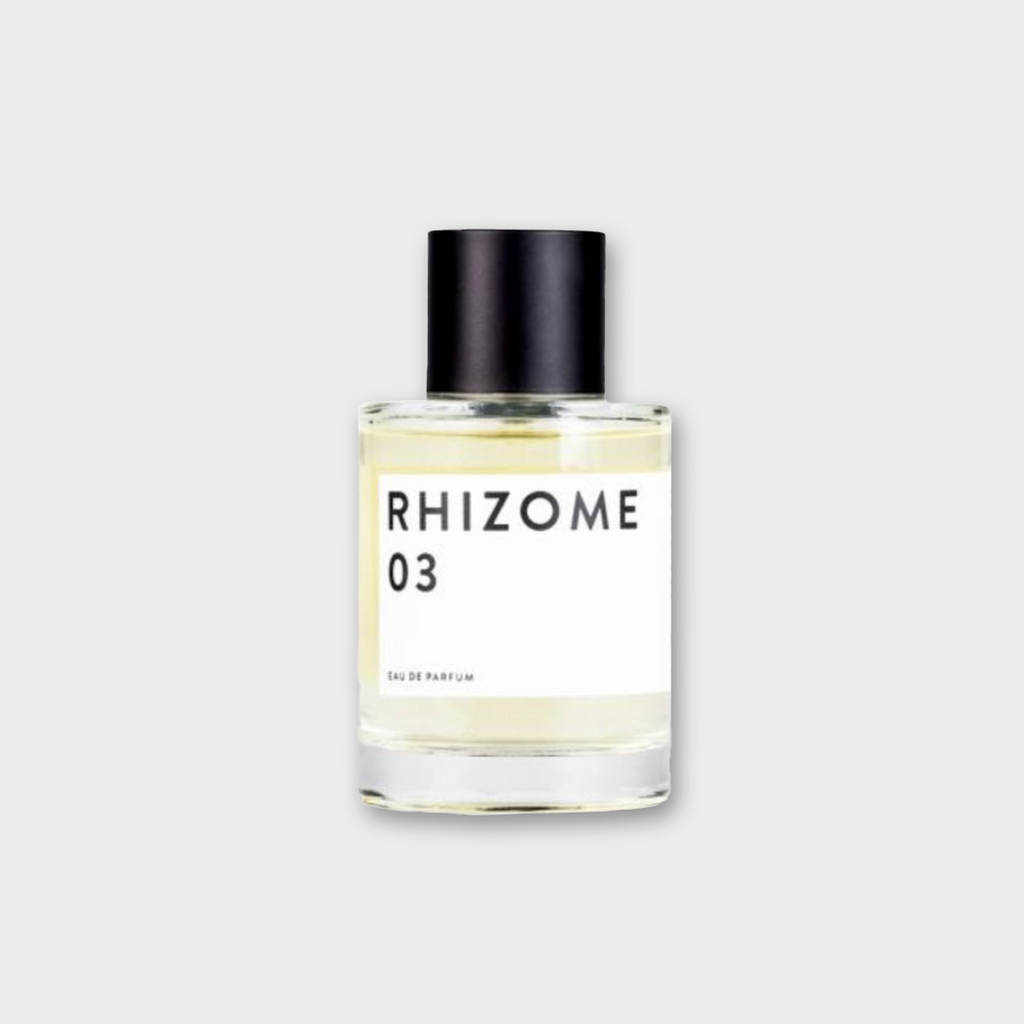 Rhizome Project Eau De Parfum No 03 - sandal, patchouli, lemon & ginger 100ml