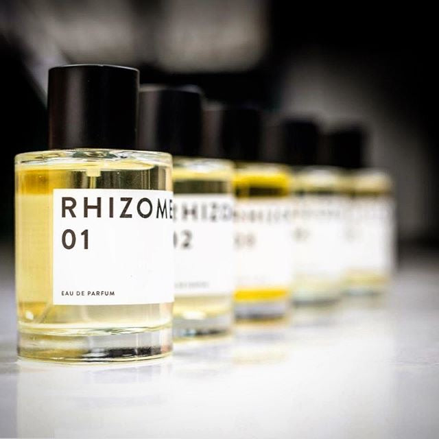 Rhizome Project Eau De Parfum No 01 - incense, patchouli cumin & nutmeg 100ml