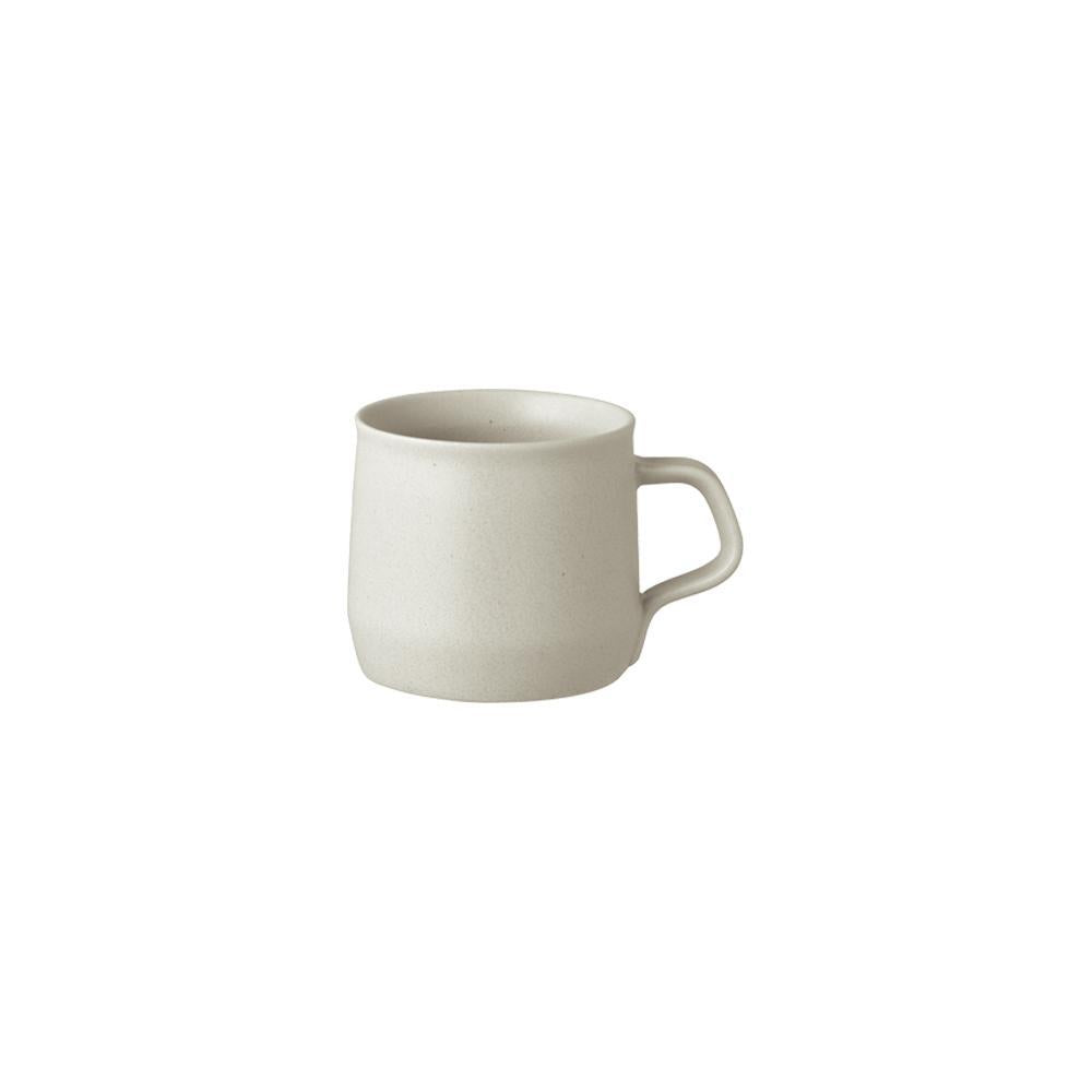 Kinto Japan Fog Porcelain Coffee Mug - Ash White 270ml