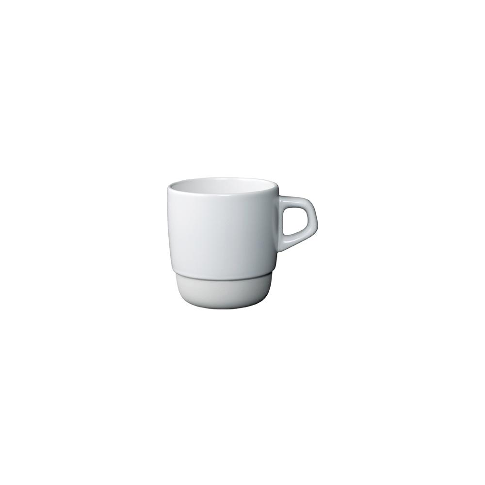 Kinto Japan SCS Coffee Stacking Porcelain Mug - White