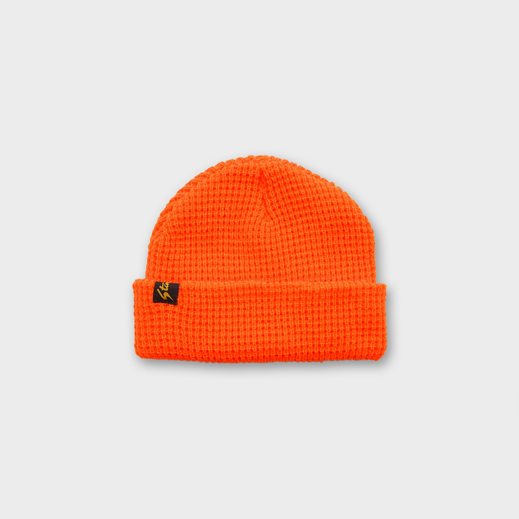 Stan Ray Waffle Skull Hat - Blaze Orange