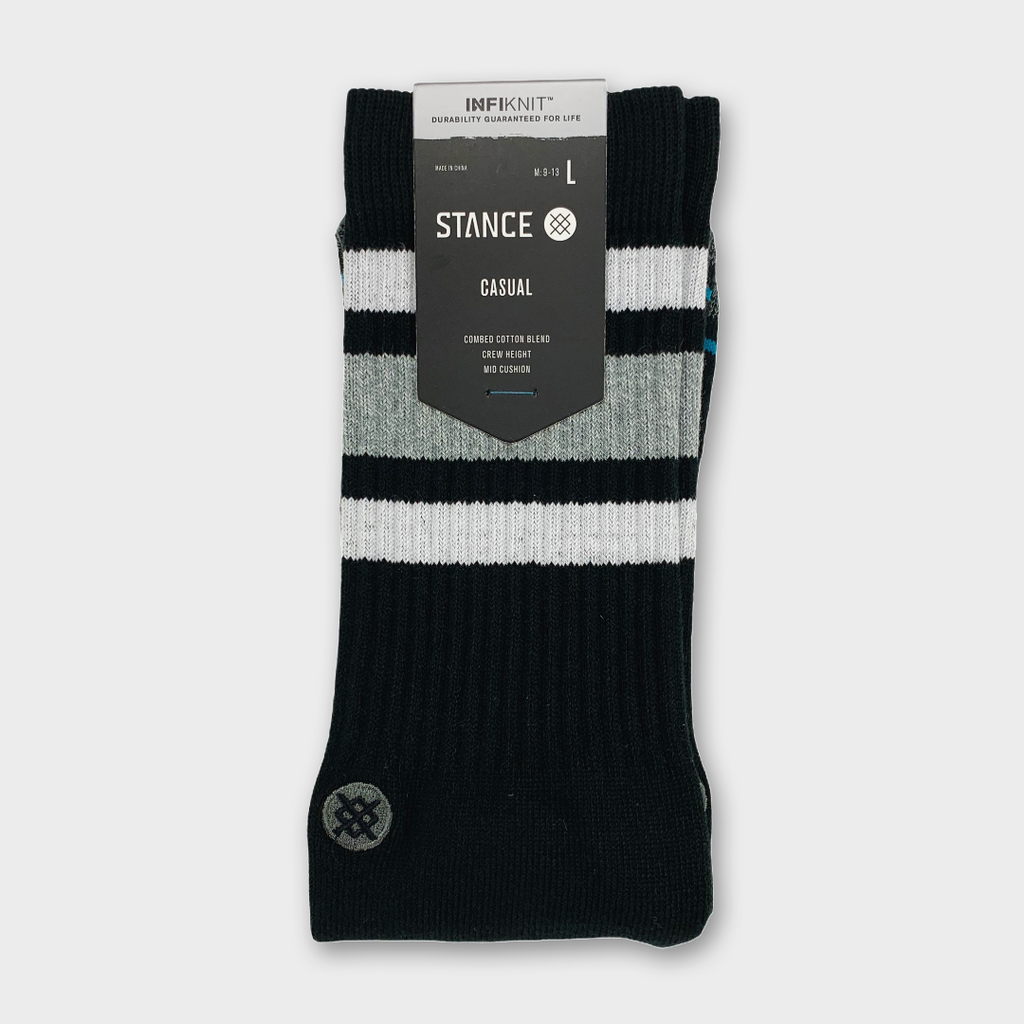 Stance Boyd Staple Infiknit Socks - Black