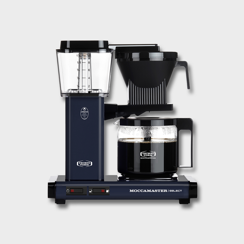 MOCCAMASTER KBG SELECT FILTER COFFEE BREWER - MIDNIGHT BLUE