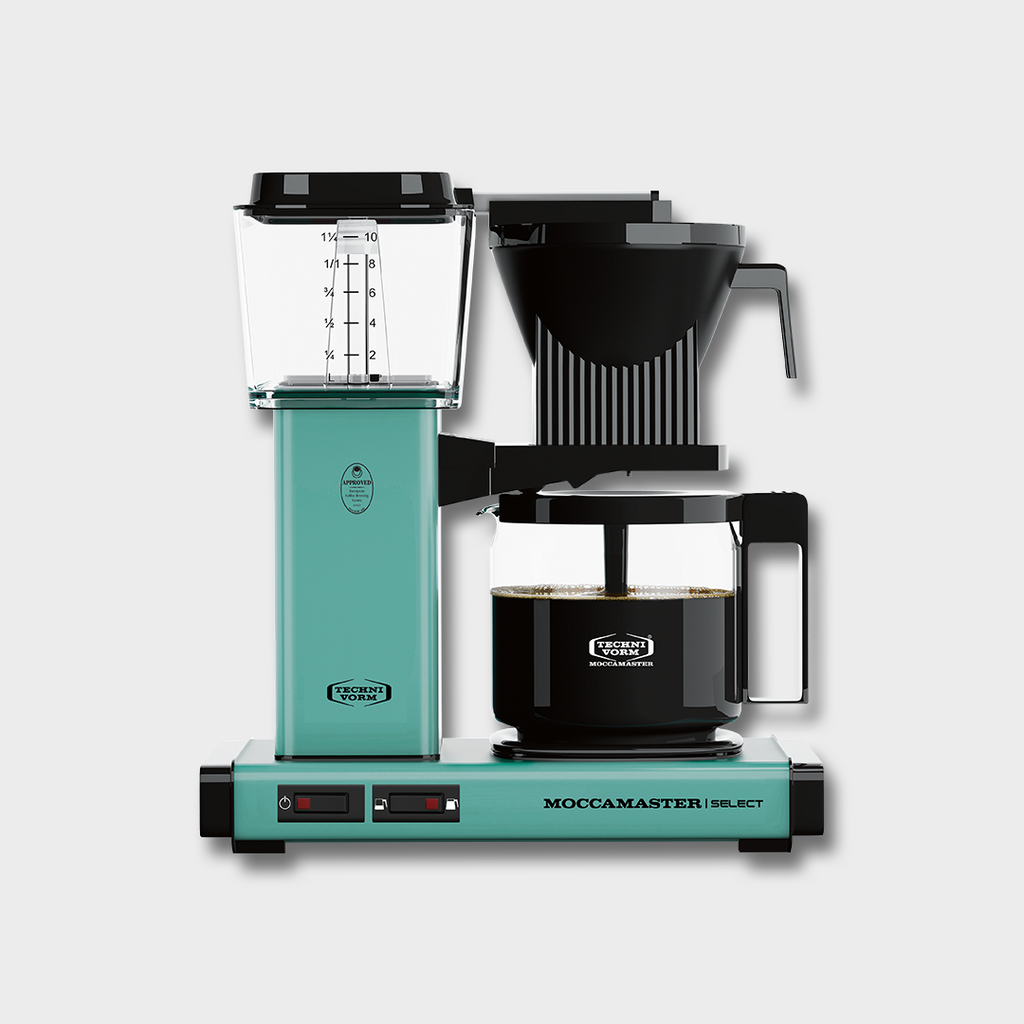 MOCCAMASTER KBG SELECT FILTER COFFEE BREWER - TURQUOISE