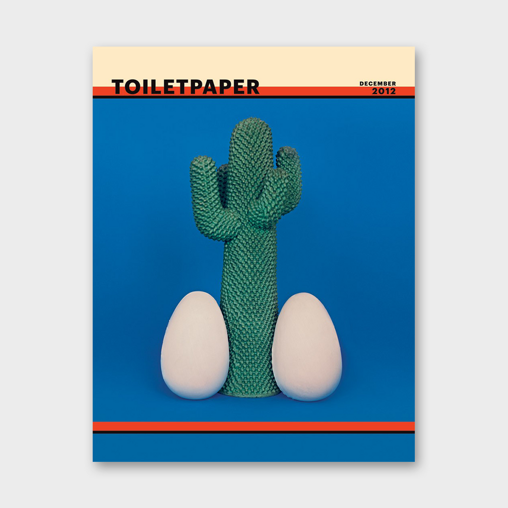 Toilet Paper Magazine - Issue 7 December 2012