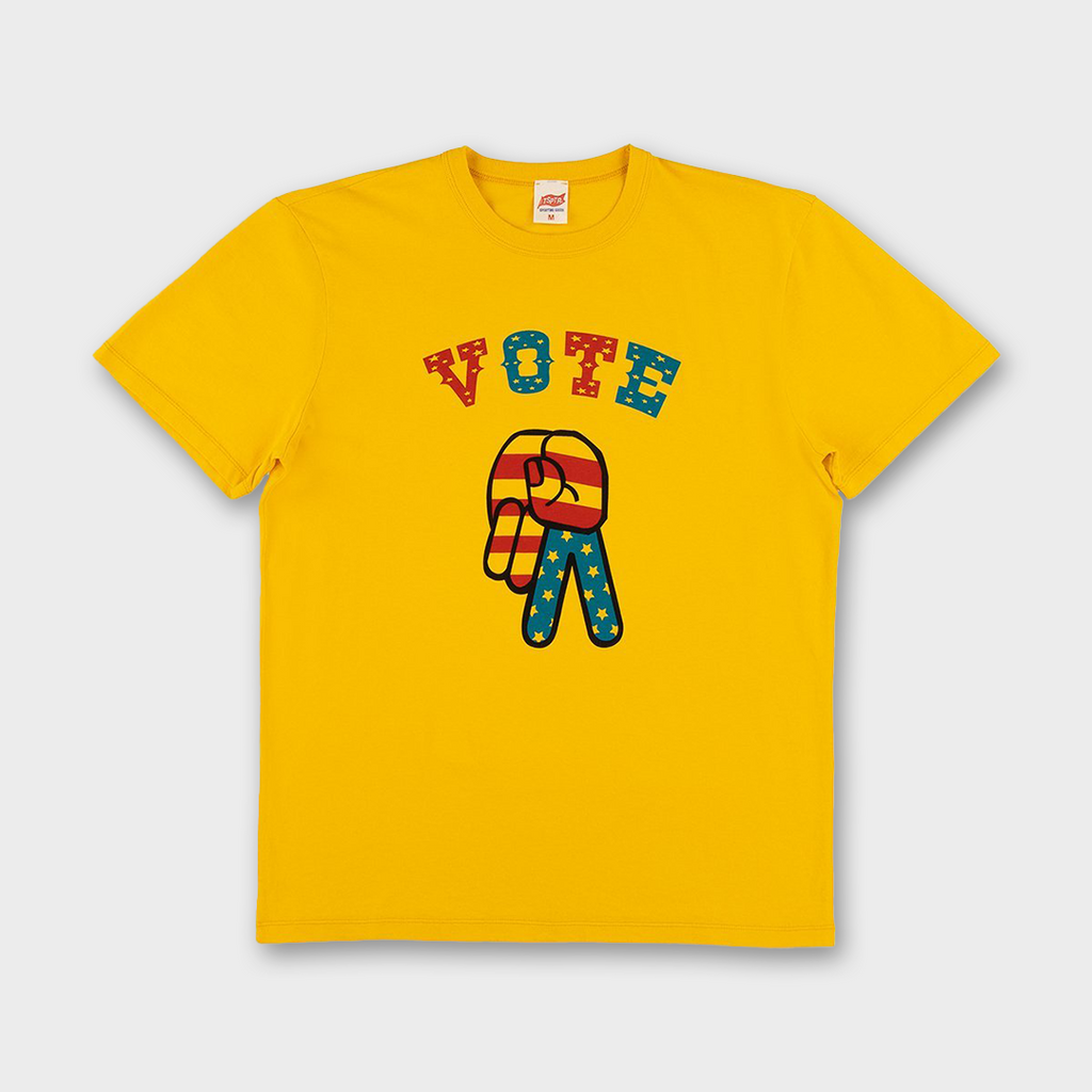 TSPTR Vote TSPTR T-shirt - Yellow