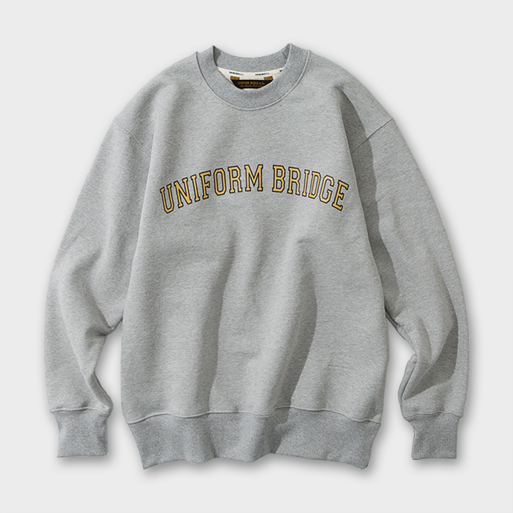Uniform Bridge Arch Logo Sweatshirt - Grey