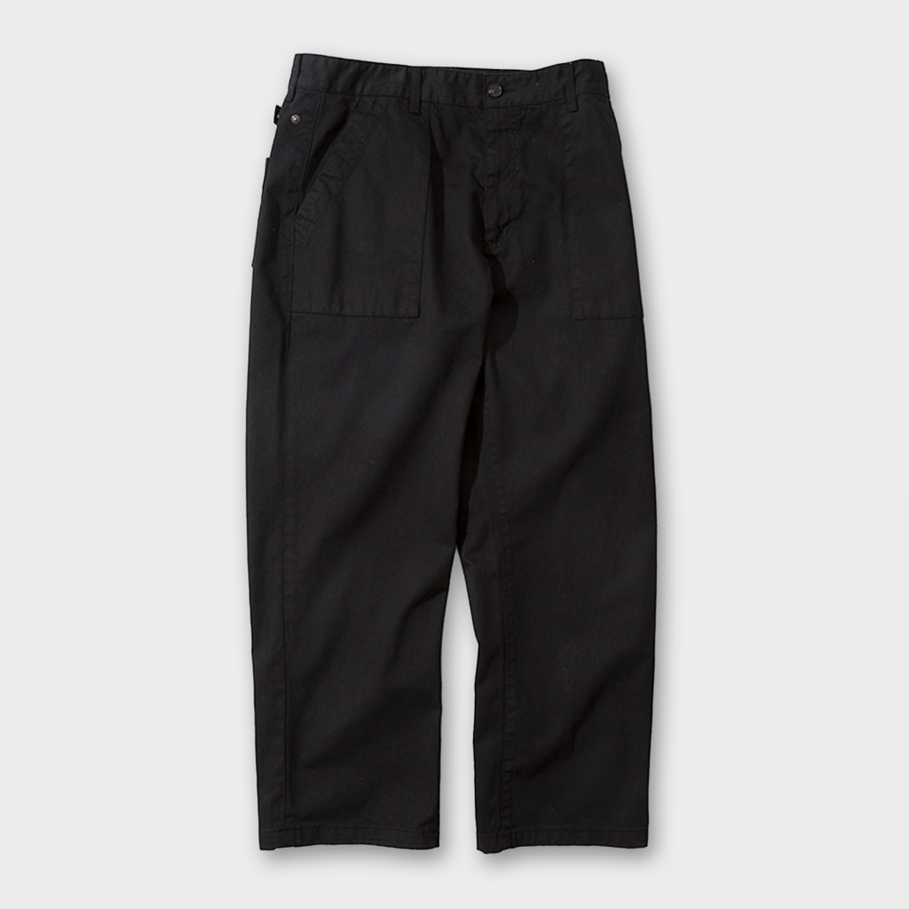 Uniform Bridge Broken Fatigue Pants - Black
