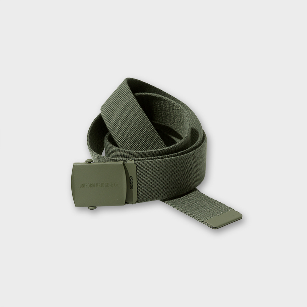 Uniform Bridge OG Logo Army Belt - Khaki