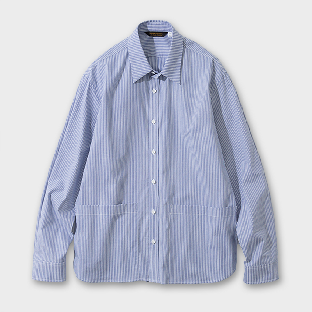 Uniform Bridge Stripe Shirt - Blue