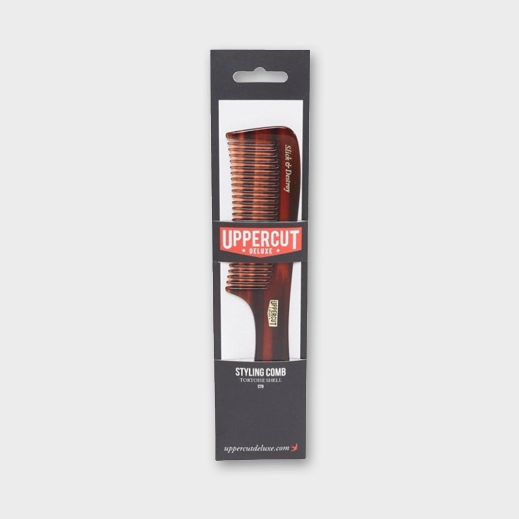 Uppercut Deluxe CT9 Styling Comb - Tortoise Shell