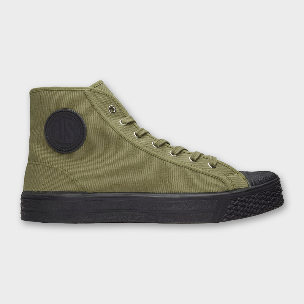 US Rubber Company Military High Top - Military Green
