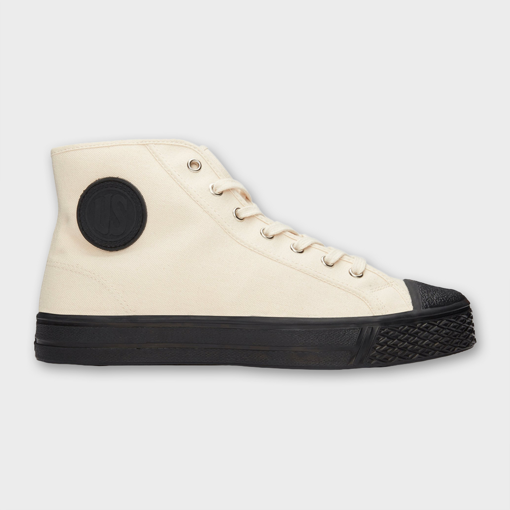 US Rubber Company Military High Top - Off White
