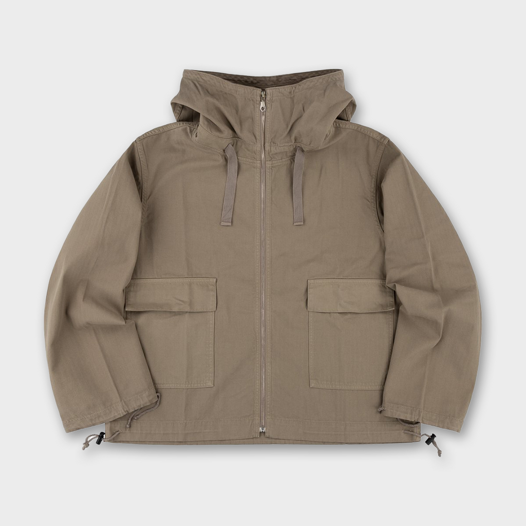 TSPTR Zip Thru Mojave smock Jacket - Faded Olive