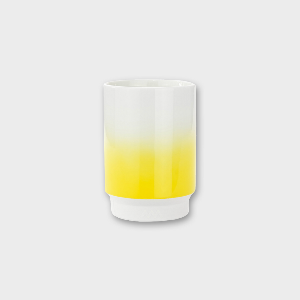 ASEMI CO. Japanese Hasami Cup - Yellow Gradient Large