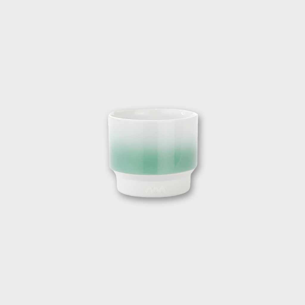 ASEMI CO. Japanese Hasami Cup - Mint Green Gradient Small