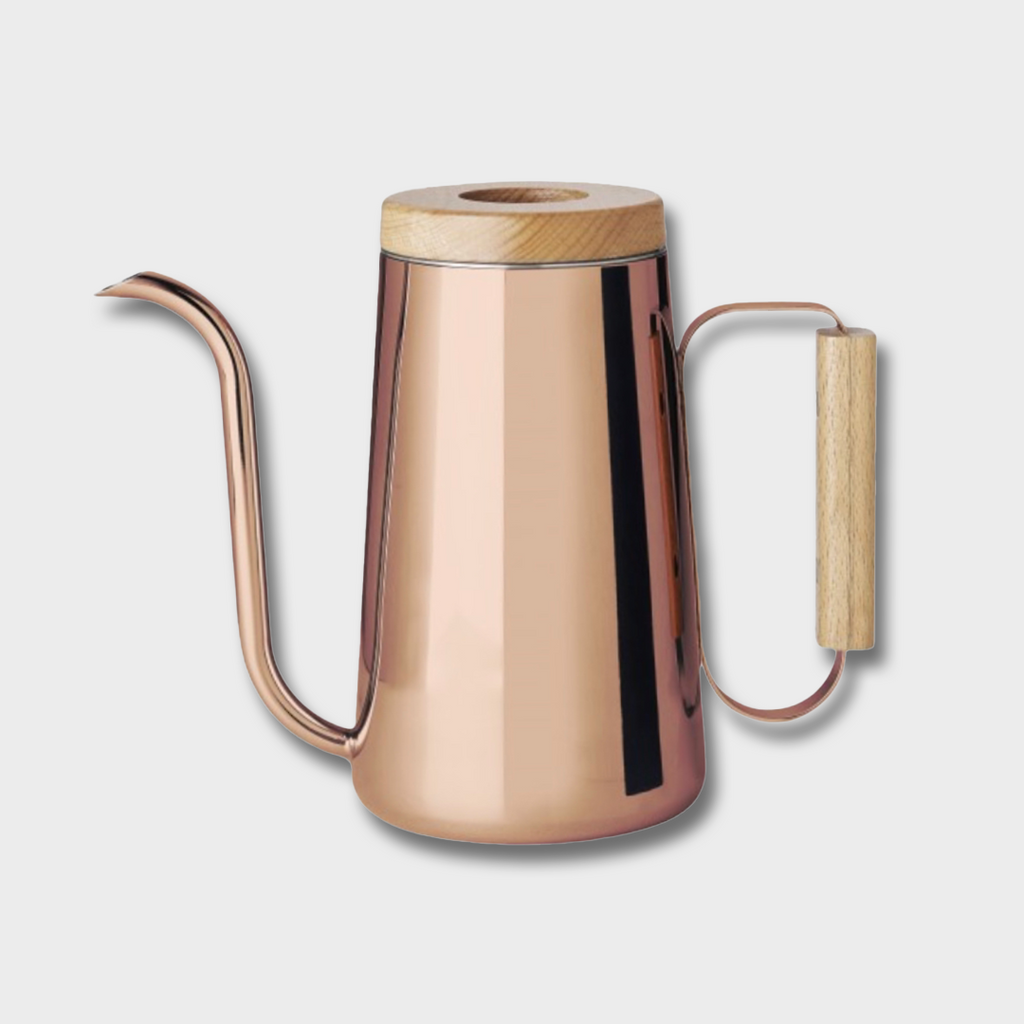Toast Living H.A.N.D Pour Over Coffee Kettle - Copper / Wood