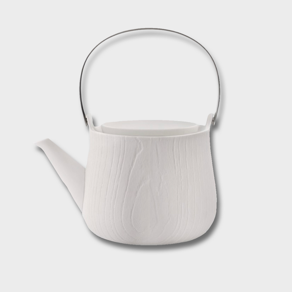 Toast Living MU Porcelain Tea Pot - White 600ml