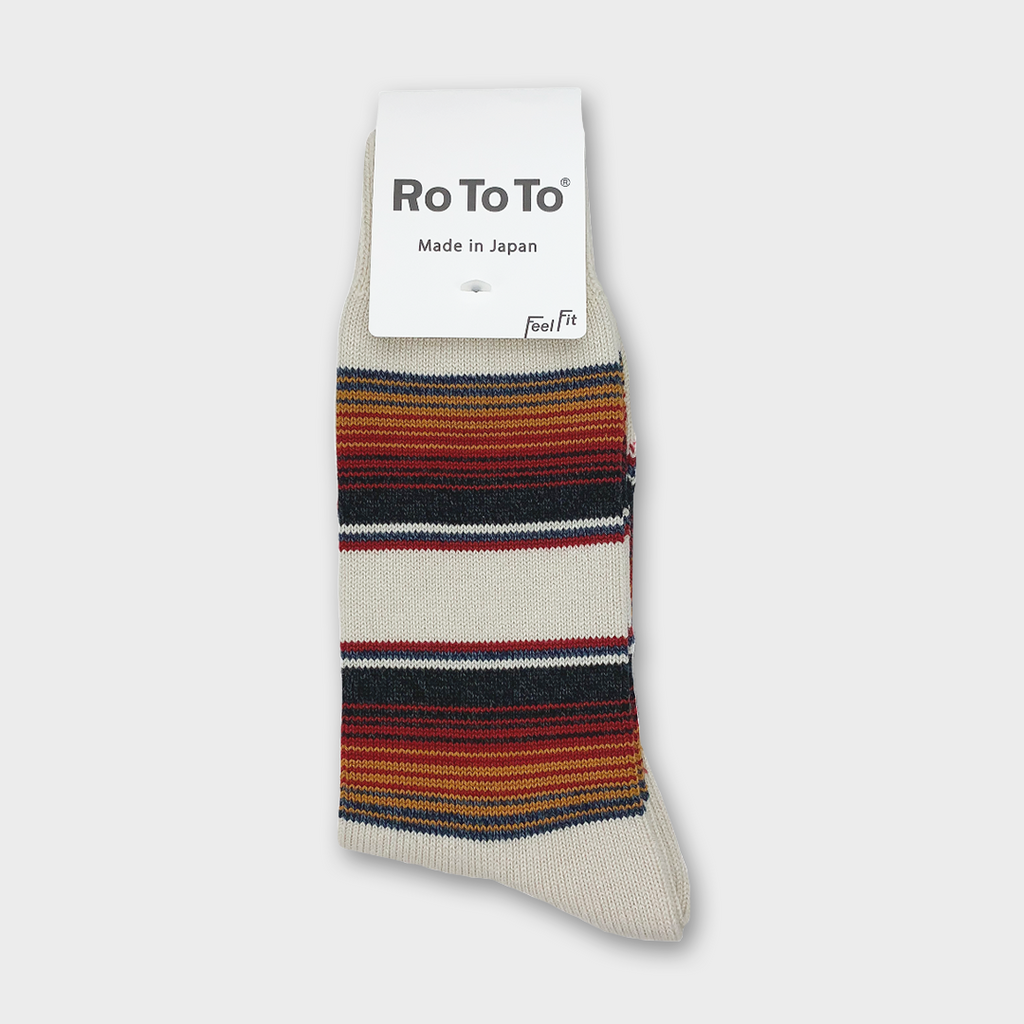 Ro To To Japan Baja Cali Socks - Ivory