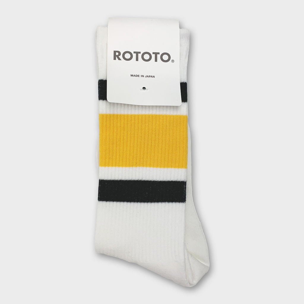Ro To To Japan Newschool Socks - Black / Yellow