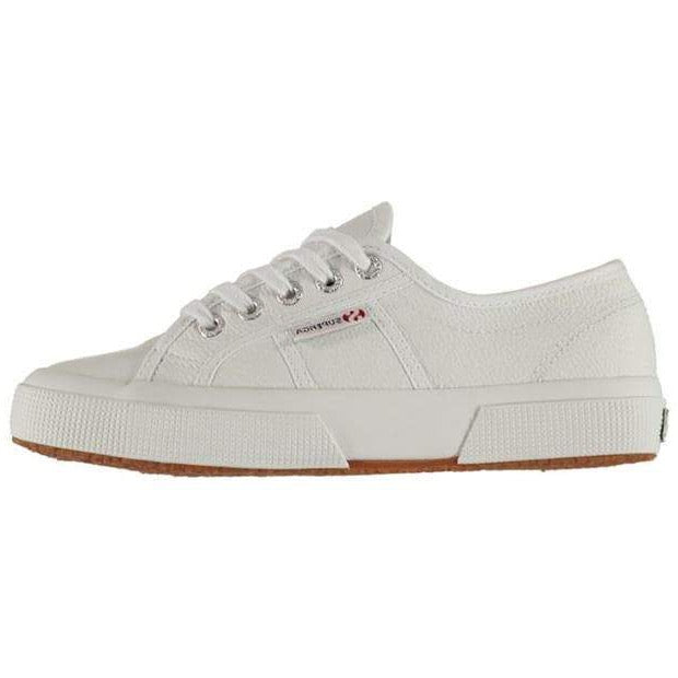 Superga Leather Trainers - White