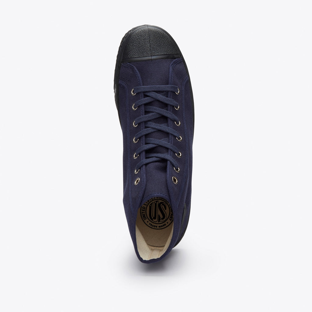 US Rubber Company Military Hi Top - Navy