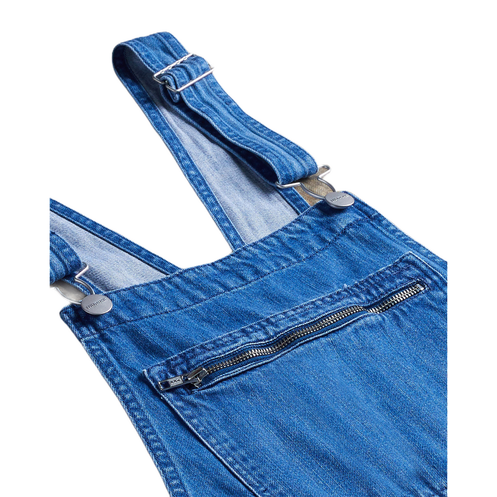 Uskees Women's #2001 Organic Bib Overall Dungarees - Washed