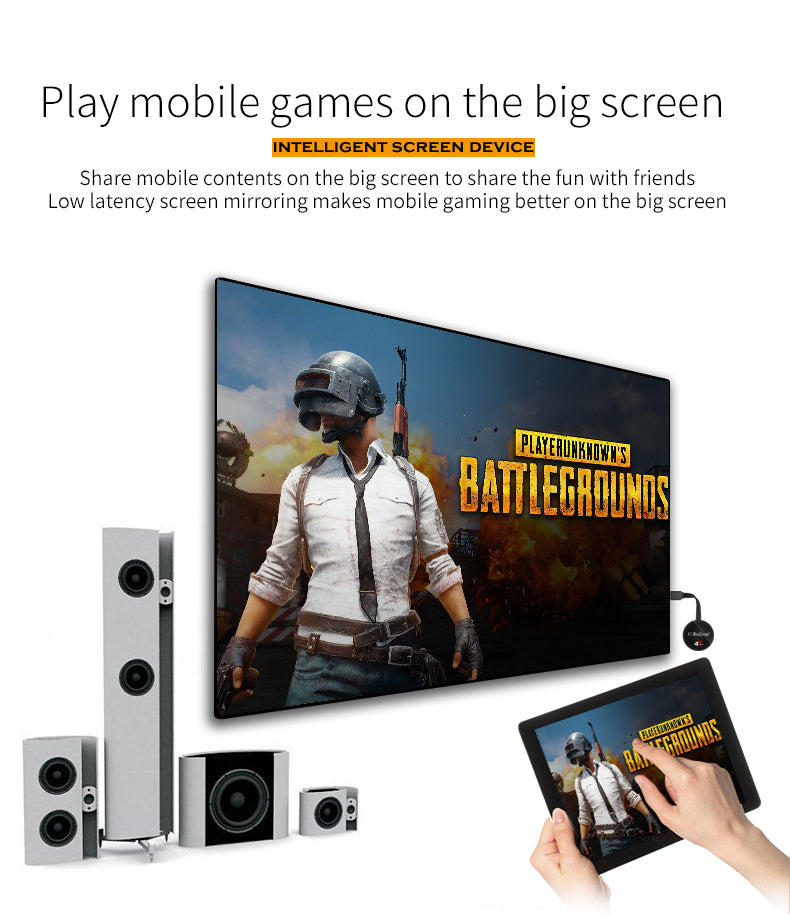 G7 Plus MiraScreen Screen Mirroring Receiver
