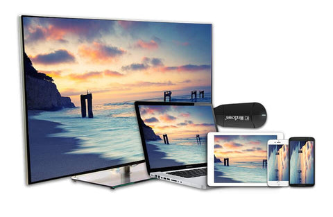 Wireless screen mirroring and smartphone AV cable - MiraScreen