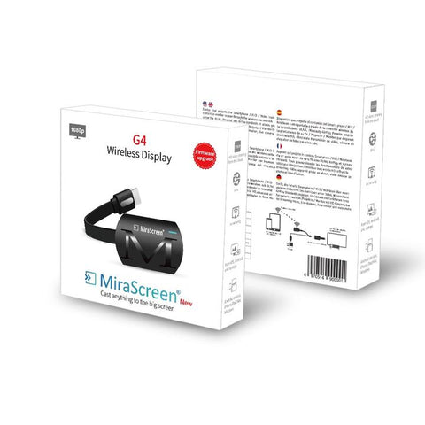 G4 Wireless Screen Mirroring Receiver